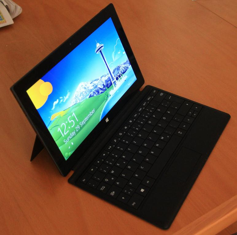 Das MS Surface RT