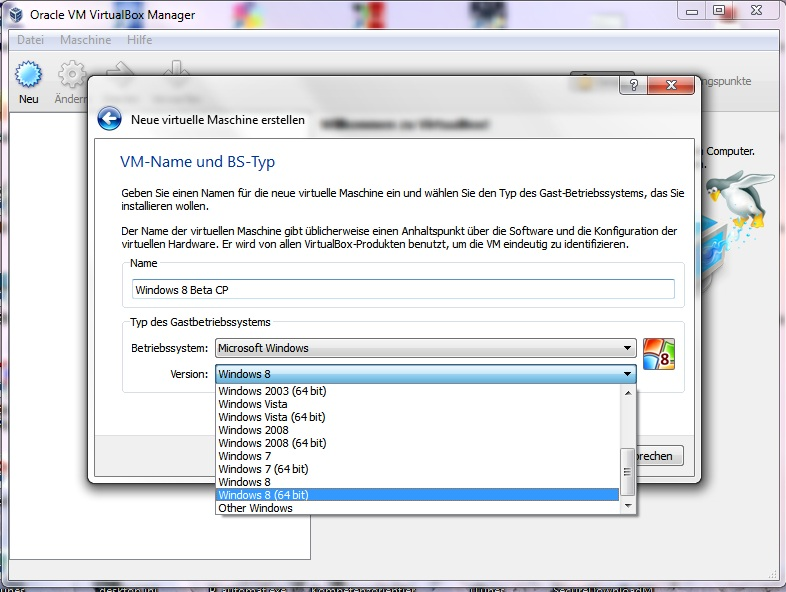 oracle vm virtualbox windows 8 64 bit download