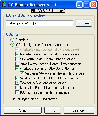 ICQ Banner Remover 1.1